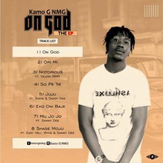 Kamo G NMG - On God (The Dawn Of A New Era) Tracklist